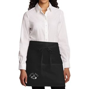 Port Authority® Easy Care Half Bistro Apron with Stain Release